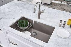 blanco metallic gray sink blanco precis 27 granite composite undermount kitchen sink in