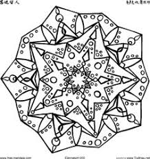 free pdf mandala coloring pages simple complex