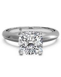 cushion ring cushion cut engagement rings