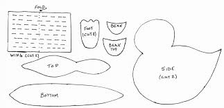 free coloring pages of duck clip art library
