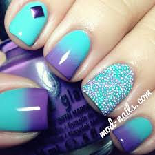 how to do ombre nail art at home ring finger finger and ombre