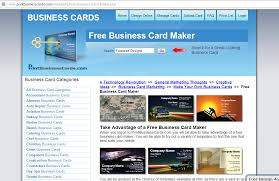 Best Business Card Creator Best Free Online Business Card Maker Digitophile
