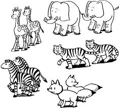animal printouts noahs ark pages color animals eson