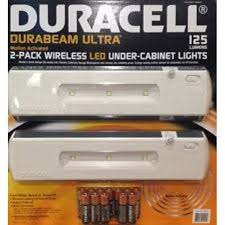 duracell led under cabinet light costco duracell led under cabinet light 2 pack delivery online in
