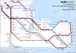 Route Mapping by South Eastern Train Rail Maps