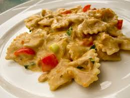 light olive oil pasta sauce bow tie pasta with tuna food whine