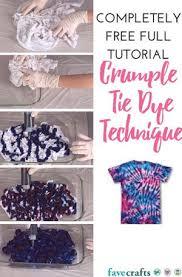 swirl tie dye technique favecrafts com