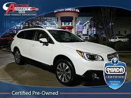 2016 subaru outback 2 5i limited cars for sale at auction direct usa