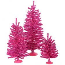 12 inch 18 inch 24 inch pink mini tree set b883318