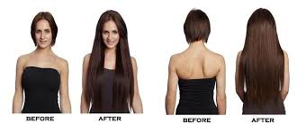 22 inch hair extensions before and after range of clipin hair extensions 16 inch 18 inch 20 inch and 22