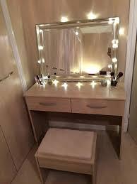 Bedroom Mirror Lights Dressing Table Mirror Lights Ikea Vanity Home Design Ideas With