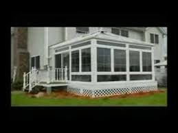 All Season Patio Enclosures Four Seasons Sunrooms Youtube