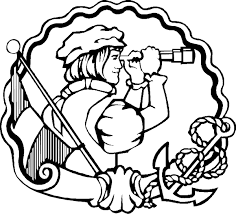 columbus coloring page virtren com