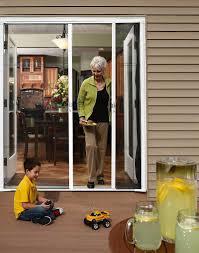 odl brisa retractable screen doors patio screen door french