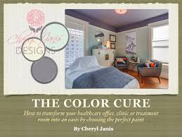 the color cure interior design for the medical space