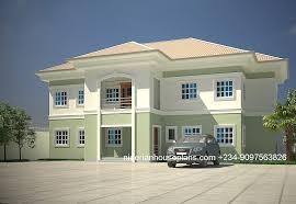 five bedroom house plans 5 bedroom duplex archives nigerianhouseplans