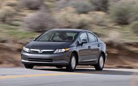 2012 honda civic hf test motor trend