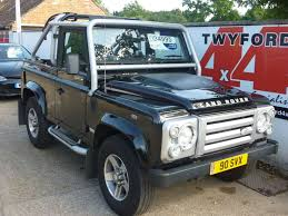 2009 land rover 2009 land rover defender 90 svx soft top p u swb