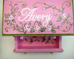 Personalized Ballerina Jewelry Box Personalized Musical Jewelry Boxpinkbluelavendergirls