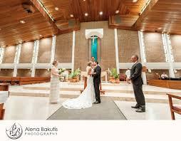 fort walton weddings classic catholic church wedding in fort walton florida