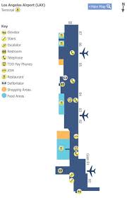 lax gate map los angeles airport lax terminal 3 map map of terminal 8 at