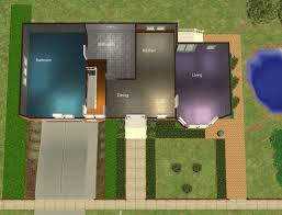 basement garage house plans mod the sims 23 central drive house with basement garage and no cc
