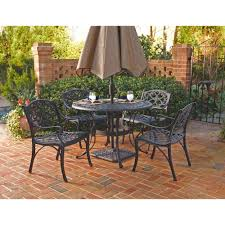 Dining Sets Home Styles Biscayne Black 5 Piece Patio Dining Set 5554 328 The