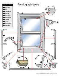 Window Framing Diagram Parts Finder U2013 Pickens Window Service