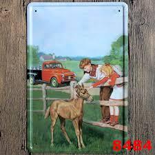 Cheap Retro Home Decor Online Get Cheap Metal Horse Art Aliexpress Com Alibaba Group