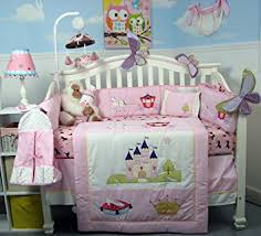 Nursery Bed Set Soho Royal Princess Baby Crib Nursery Bedding Set 13