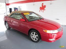 toyota convertible 2003 red flame metallic toyota solara sle v6 convertible 30037186