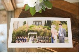 fabric photo album fabric wedding album estancia la jolla garrett