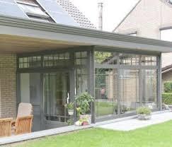 veranda vetro verande chiuse a vetri simple verande a tetto piano with verande
