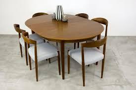 Teak Dining Room Furniture by Danish Teak Dining Table With Extension Leaf By Arne Vodder 1960s