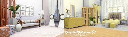 Bedroom Things Simsational Designs Updated Bayside Bedroom Set