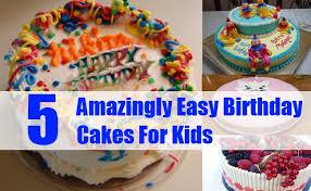 simple children birthday cake ideas 28 images 25 easy