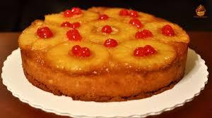 Pineapple Upside Down Cake Recipe Upside Cake Recipe Youtube