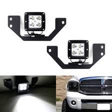 dodge dakota fog light install 08 dodge ram 1500 03 09 ram2500 3500 cree led pod light kit
