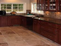 Travertine Kitchen Floor by 14 Best Kitchen Floor Tile Images On Pinterest Kitchen Flooring
