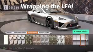 lexus supercar fast five forza horizon 3 ep 2 wrapping the lexus lfa youtube