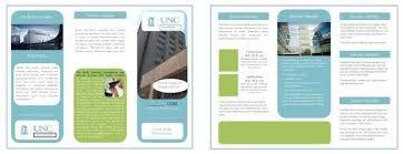 one page brochure template sle brochure template fieldstation co