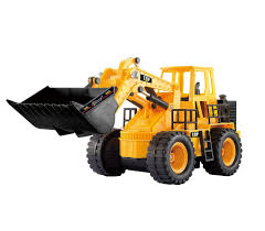 Radio Controlled Front Loader 1 10 Scale Rc Bulldozer Construction Top Race 5 Channel Full Functional Front Loader Top Race