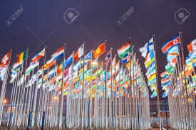 Flags Of All Nations United Nations Stock Photos U0026 Pictures Royalty Free United