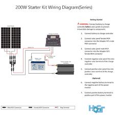 200 watt off grid monocrystalline solar starter kit hqst solar