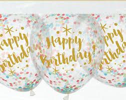 birthday balloons birthday balloons etsy