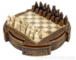 the regency chess company isle of lewis compact decorative
