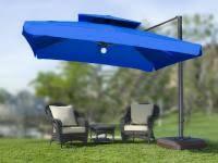 Tilting Patio Umbrella by Comfortchannel Com U003e Side Post Valance U0026 Cantilever Tilting Patio