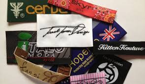 design label woven high definition woven woven printed garment labels woven labels