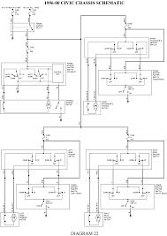 1999 honda civic window motor captivating 98 honda civic wiring diagram pictures diagram
