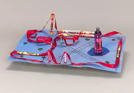 craft ribbon ribbon roller coaster craft crayola